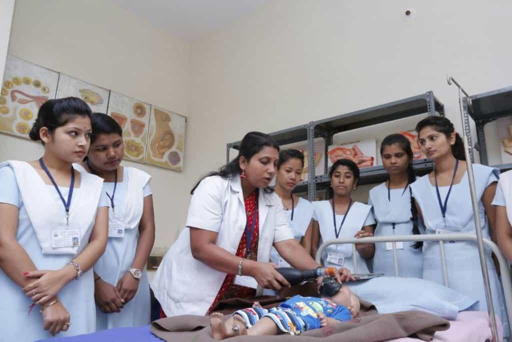 K R Nursing College